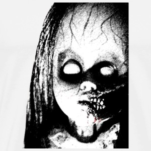 The Scaru Doll Funny Halloween T shirt Pre - Men's Premium T-Shirt