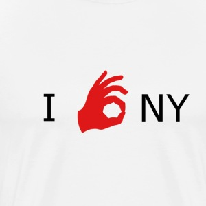 NY is OK - Men's Premium T-Shirt