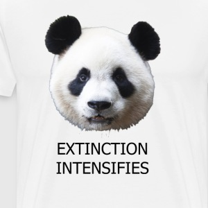 EXTINCTION INTENSIFIES - Men's Premium T-Shirt