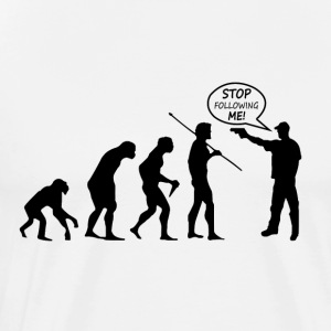 Evolution of Thug - Men's Premium T-Shirt