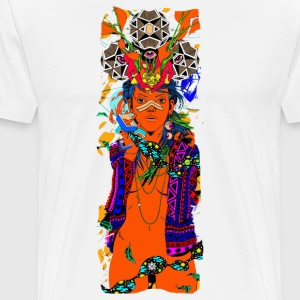 The trippy lady - Men's Premium T-Shirt