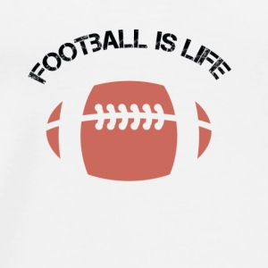 Football Is Life - Men's Premium T-Shirt