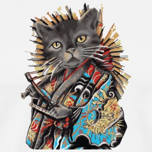 Chinese Cat in Japan - Men's Premium T-Shirt