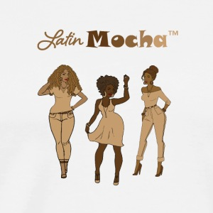 LatinMocha Ladies - Men's Premium T-Shirt