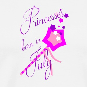 Princesses Born in July - Men's Premium T-Shirt