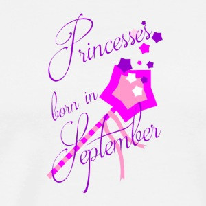 Princess Born in September - Men's Premium T-Shirt