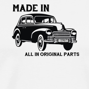 Made in 1967 all in originak parts gift - Men's Premium T-Shirt