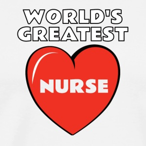 World's Greatest Nurse - Men's Premium T-Shirt