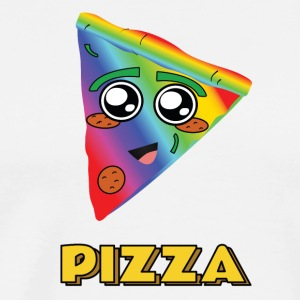 rainbow pizza - Men's Premium T-Shirt