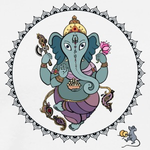 Hindu God Ganesha - Men's Premium T-Shirt