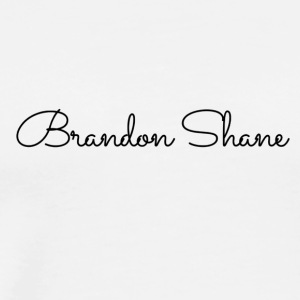 Brandon Shane (black font) - Men's Premium T-Shirt