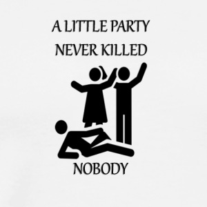 Party never killed - Men's Premium T-Shirt
