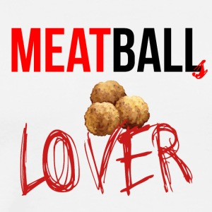 Meatballs lover - Men's Premium T-Shirt