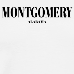 ALABAMA MONTGOMERY US DESIGNER EDITION - Men's Premium T-Shirt