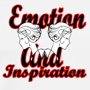 emotion and inspiration - Men's Premium T-Shirt