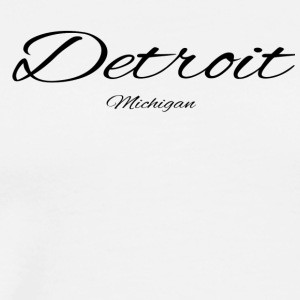 Michigan Detroit US DESIGN EDITION - Men's Premium T-Shirt