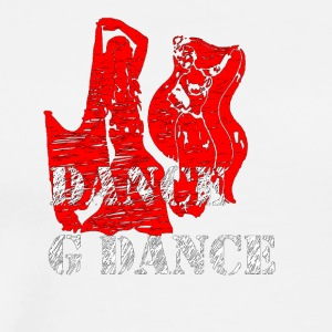 dance g dance - Men's Premium T-Shirt