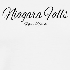 New York Niagara Falls US DESIGN EDITION - Men's Premium T-Shirt