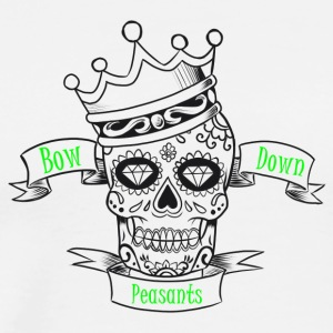 Bow Down Peasants - Men's Premium T-Shirt