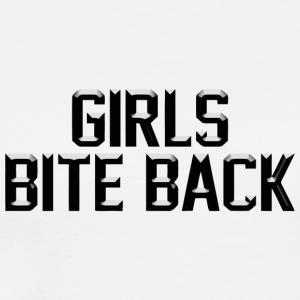 Girls bite back - Men's Premium T-Shirt