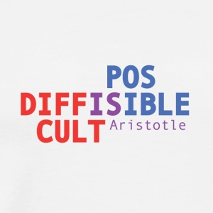 Difficult is possible - Aristotle - Men's Premium T-Shirt