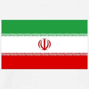 National Flag Of Iran - Men's Premium T-Shirt