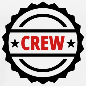crew team button - Men's Premium T-Shirt