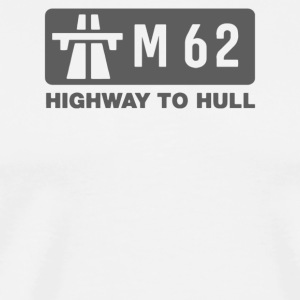 M62 Highway to Hull - Men's Premium T-Shirt