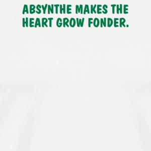 Absynthe Makes The Heart Grow Fonder - Men's Premium T-Shirt
