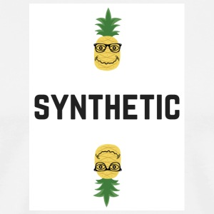 Synthetic Pineapple - Men's Premium T-Shirt