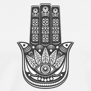 The Hamsa Hand - Men's Premium T-Shirt