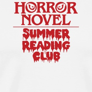 Horror Novel Reading Club - Men's Premium T-Shirt