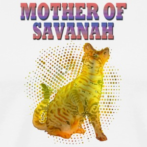 Savannah cat - Men's Premium T-Shirt