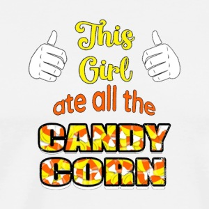 Halloween TShirt for Women This Girl Ate All The - Men's Premium T-Shirt