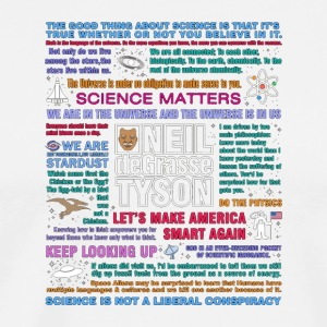 Neil deGrasse Tyson NDT Quotes T Shirt - Men's Premium T-Shirt