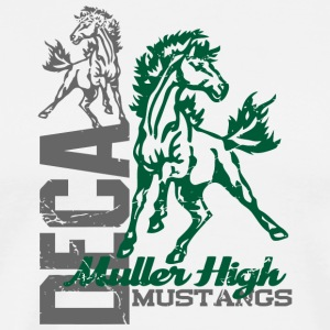 DECA Muller High Mustangs - Men's Premium T-Shirt