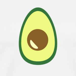 Huge Avocado Guacamole Food Porn Design - Men's Premium T-Shirt