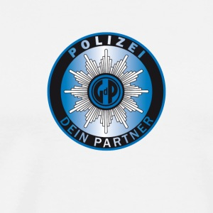 polizei symbol partner - Men's Premium T-Shirt