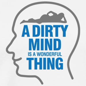 Dirty Thoughts Are Something Wonderful! - Men's Premium T-Shirt