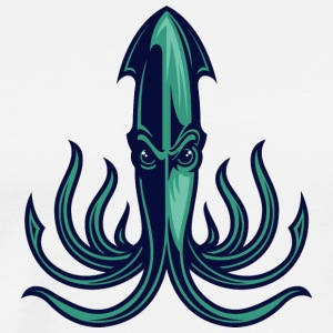 octopus_green - Men's Premium T-Shirt
