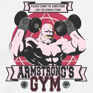 Strong Arm GymV - Men's Premium T-Shirt