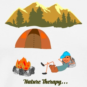 Nature Therapy - Men's Premium T-Shirt