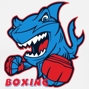 shark boxing - Men's Premium T-Shirt