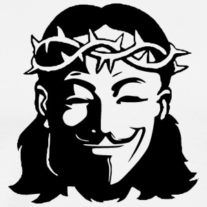 Guy Fawkes Jesus - Men's Premium T-Shirt