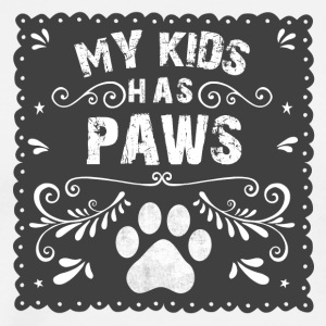 cat My kids has paws - Men's Premium T-Shirt