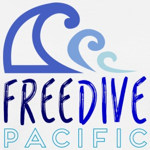 Freedive pacific - Men's Premium T-Shirt