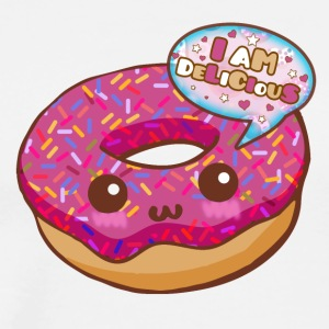 Donut Kawaii - Men's Premium T-Shirt
