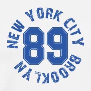 New York City Brooklyn 89 - Men's Premium T-Shirt