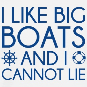 I Like Big Boats - Men's Premium T-Shirt