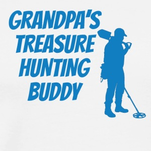 Grandpa's Treasure Hunting Buddy - Men's Premium T-Shirt